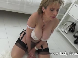 Doll Sonia taunting you with her meaty baps
